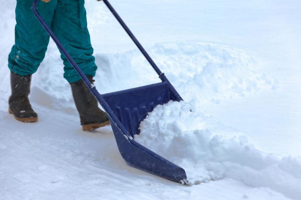 remove snow from different places
